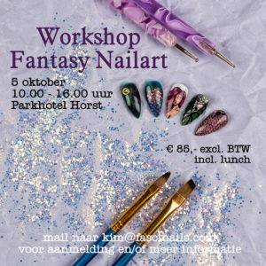 Workshop Fantasy Nailart